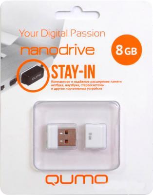 Usb flash накопитель Qumo NanoDrive 8Gb White - коробка