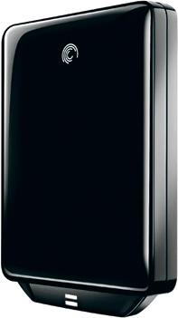 Внешний жесткий диск Seagate FreeAgent GoFlex Kit Black 320 Gb (STAA320200) - общий вид