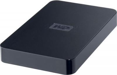 Внешний жесткий диск Western Digital Elements Portable (WDBAAR3200ABK-EESN) 320Gb - общий вид