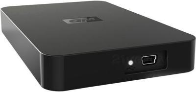 Внешний жесткий диск Western Digital Elements Portable (WDBAAR3200ABK-EESN) 320Gb - разъем для зарядки
