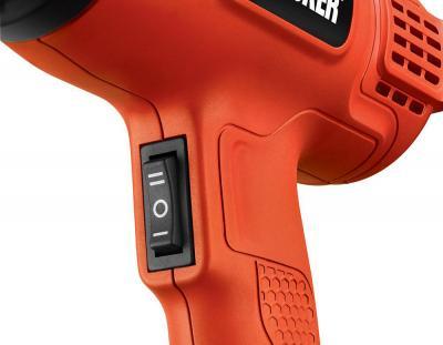 Технический фен Black & Decker KX-1650 - переключатель
