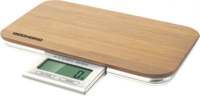 Кухонные весы Redmond RS-721 (дерево) - общий вид
