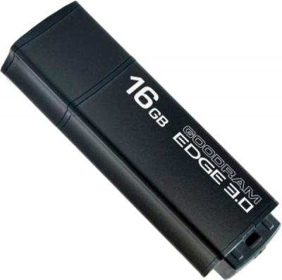 Usb flash накопитель Goodram Edge 16Gb USB 3.0 Black (PD16GH3GREGKR9) - общий вид