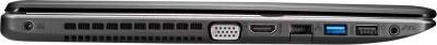 Ноутбук Asus X550CC-XO095D - вид сбоку