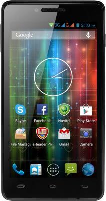 Смартфон Prestigio Multiphone 5500 Duo (черный) - общий вид