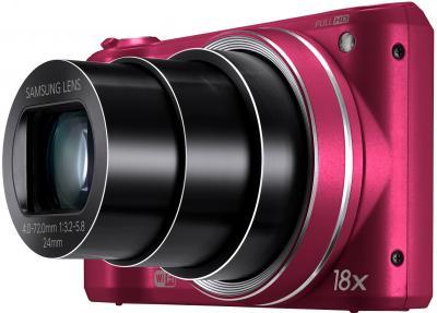 Компактный фотоаппарат Samsung WB250F (Red, EC-WB250FFPRRU) - общий вид
