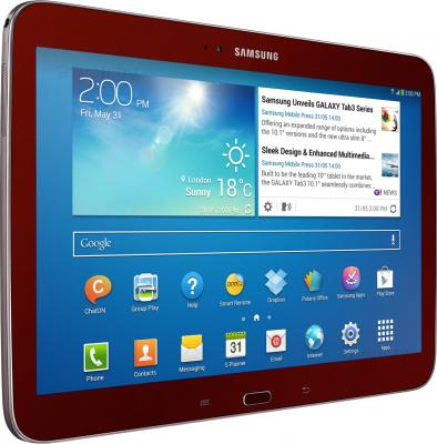 Планшет Samsung Galaxy Tab 3 10.1 GT-P5200 (16GB 3G Red) - общий вид