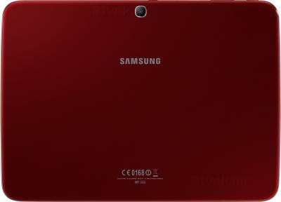 Планшет Samsung Galaxy Tab 3 10.1 GT-P5200 (16GB 3G Red) - вид сзади