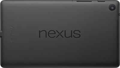 Планшет Asus Nexus 7 16GB (2013) Black - вид сзади