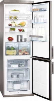 Холодильник с морозильником AEG S53600CSS0 - общий вид