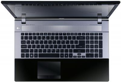 Ноутбук Acer Aspire V3-731G-20204G75Maii (NX.M6UEU.005) - вид сверху