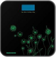Напольные весы электронные Redmond RS-715 (черно-зеленый) -