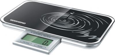 Кухонные весы Redmond RS-721 (черный) - общий вид