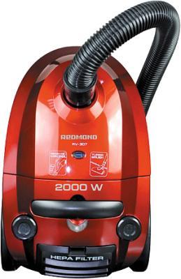 Пылесос Redmond RV-307 (красный) - общий вид