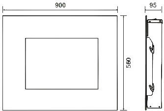 Электрокамин Electrolux EFP/W-1250RCL - схема