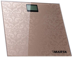 Напольные весы электронные Marta MT-1666 (Pearl) - общий вид