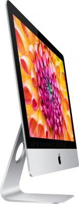 "Моноблок Apple iMac 21.5"" 2013 (ME086RS/A) - вид полубоком"