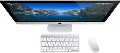 "Моноблок Apple iMac 27"" 2013 (ME088RS/A) - вид сверху"