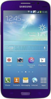 Смартфон Samsung Galaxy Mega 5.8 Duos / I9152 (пурпурный) - общий вид