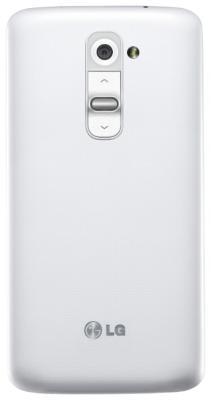 Смартфон LG G2 16Gb / D802 (белый) - задняя панель
