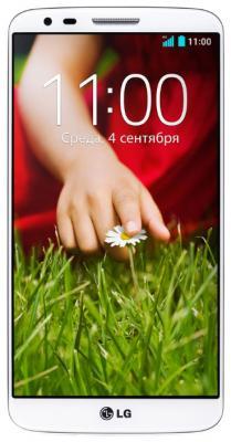 Смартфон LG G2 16Gb / D802 (белый) - общий вид