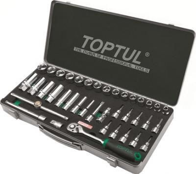 Универсальный набор инструментов Toptul GCAD3902 (39 предметов) - общий вид