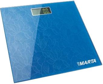 Напольные весы электронные Marta MT-1664 (Blue) - общий вид