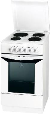 Кухонная плита Indesit K1E1(W)/R S - общий вид
