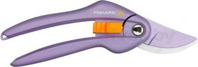 Секатор Fiskars Single Step Viola (111264) - общий вид