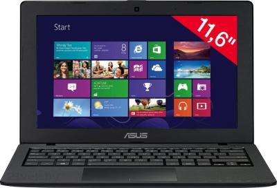 Ноутбук Asus X200CA-KX018D - фронтальный вид