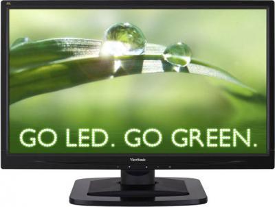 Монитор Viewsonic VA2349S-LED - фронтальный вид