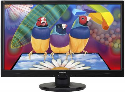 Монитор Viewsonic VA2746-LED - фронтальный вид