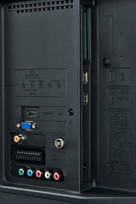Телевизор Sharp LC-32LE244RU - входы/выходы