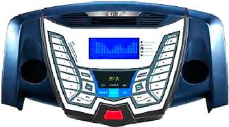 Электрическая беговая дорожка Dinamast DT-4600A1 - дисплей