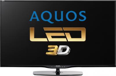 Телевизор Sharp LC-60LE651RU - вид спереди