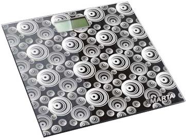 Напольные весы электронные Marta MT-1668 (Black) - общий вид