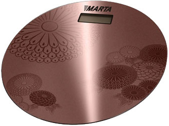 Напольные весы электронные Marta MT-1662 (Coffee) - общий вид