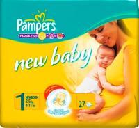 Подгузники Pampers New Baby 1 Newborn (27шт) -