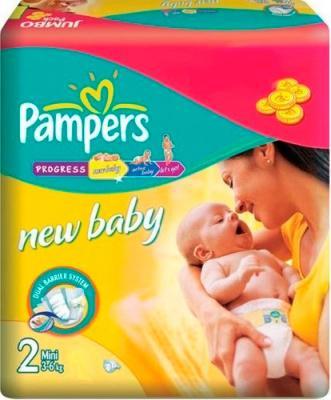 Подгузники Pampers New Baby 2 Mini (27шт) - общий вид
