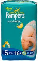 Подгузники Pampers Active Baby 5 Junior Regular Pack (16шт) -