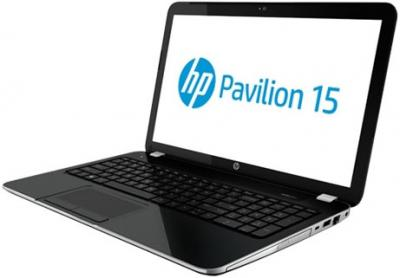 Ноутбук HP Pavilion 15-e028sr (E3Y94EA) - вид сбоку