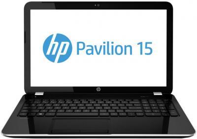 Ноутбук HP Pavilion 15-e075sr (E3Z26EA) - фронтальный вид