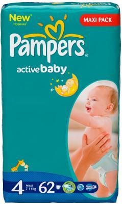 Подгузники Pampers Active Baby 4 Maxi (62шт) - общий вид