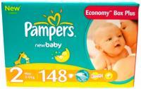 Подгузники Pampers New Baby 2 Mini (148шт) -