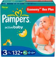 Подгузники Pampers Active Baby 3 Midi (132шт) -