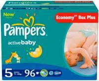 Подгузники Pampers Active Baby 5 Junior (96шт) -