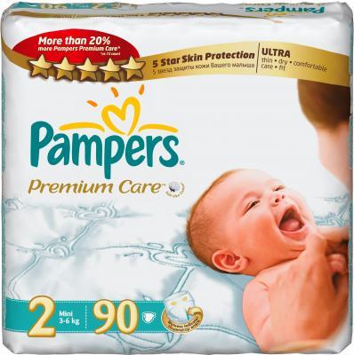 Подгузники Pampers Premium Care 2 Mini Jumbo Pack (90шт) - общий вид