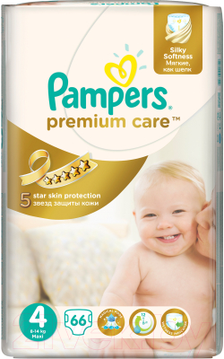 Подгузники Pampers Premium Care 4 Maxi (66шт)