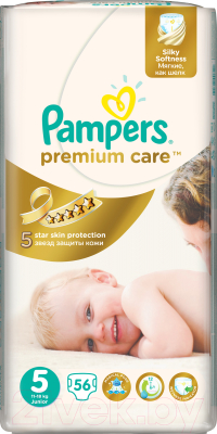 Подгузники Pampers Premium Care 5 Junior Jumbo Pack (56шт)