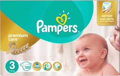 Подгузники Pampers Premium Care 3 Midi (120шт)